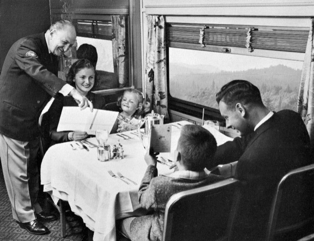 Dining Aboard The California Zephyr