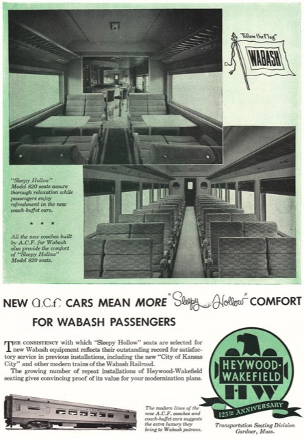 The first post war streamliner