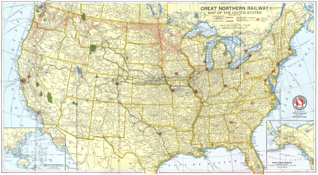 Map of the United States |