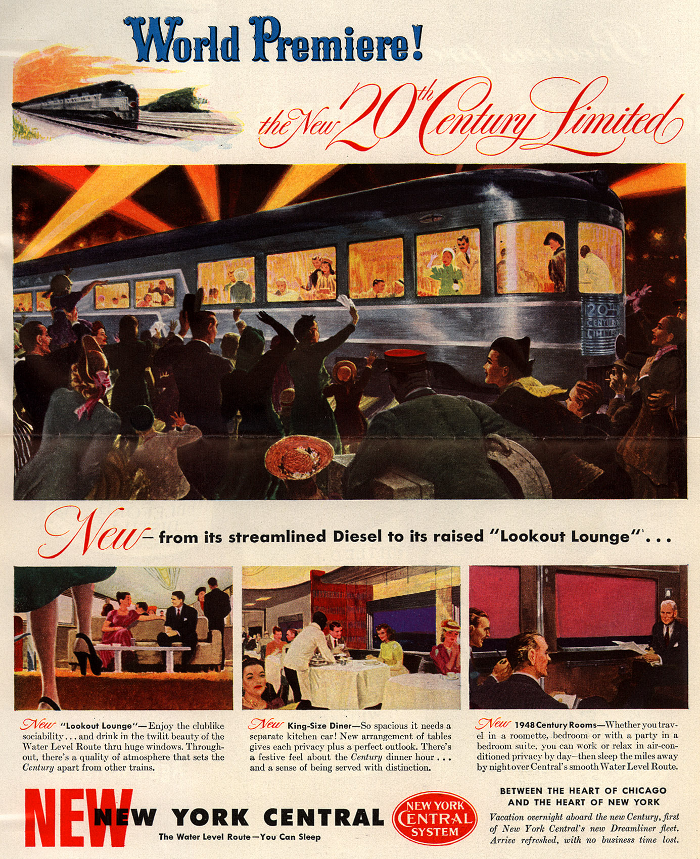 Advertising The 20th Century Limited