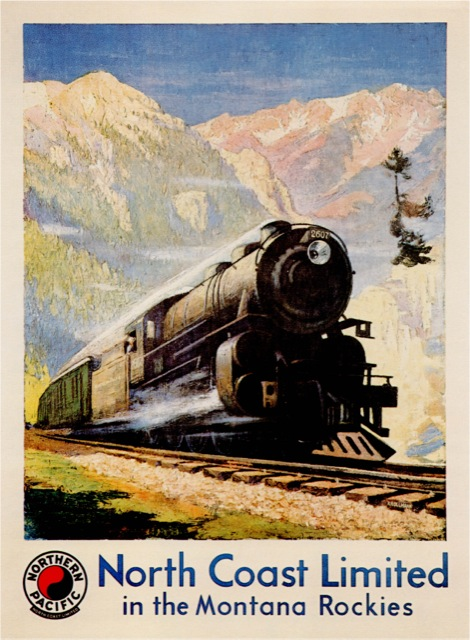 Gustav Krollmann Paints The Northern Pacific