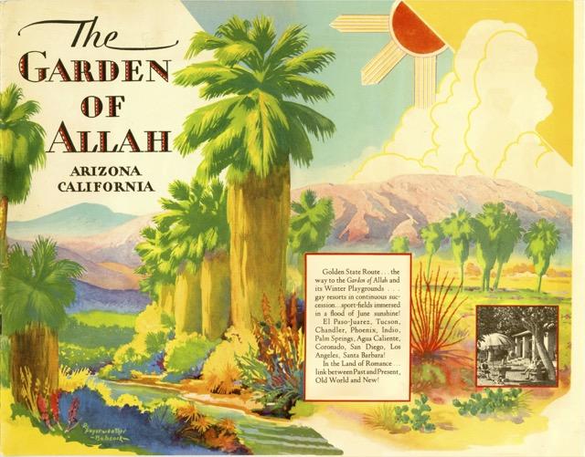 The Garden of Allah: 1934 Edition |