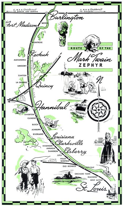 The Mark Twain Zephyr  